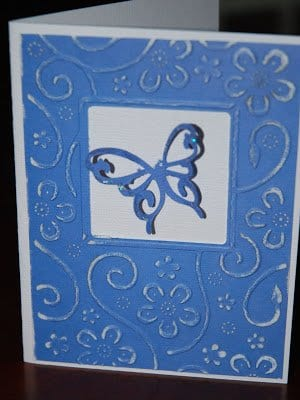 Cuttlebug birthdaycard