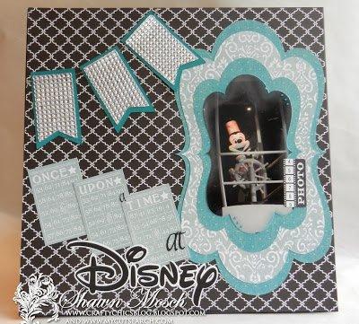 MickeyMouseScrapbookLayoutSteamboatWillie