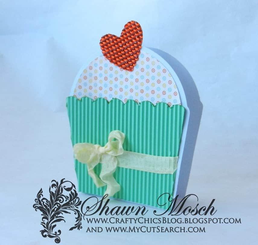 CupcakeCard rhinestone