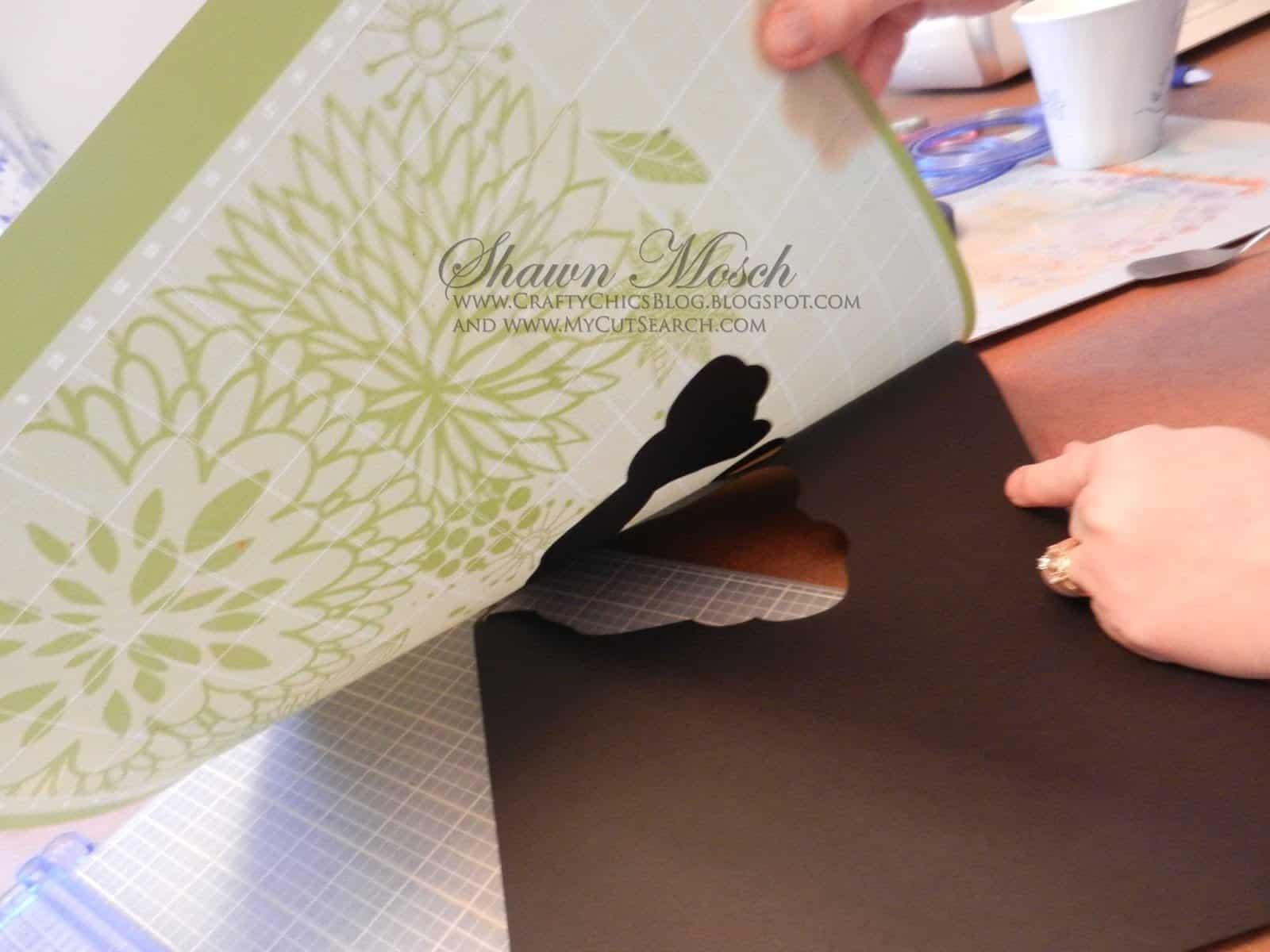 Cricut paper curling