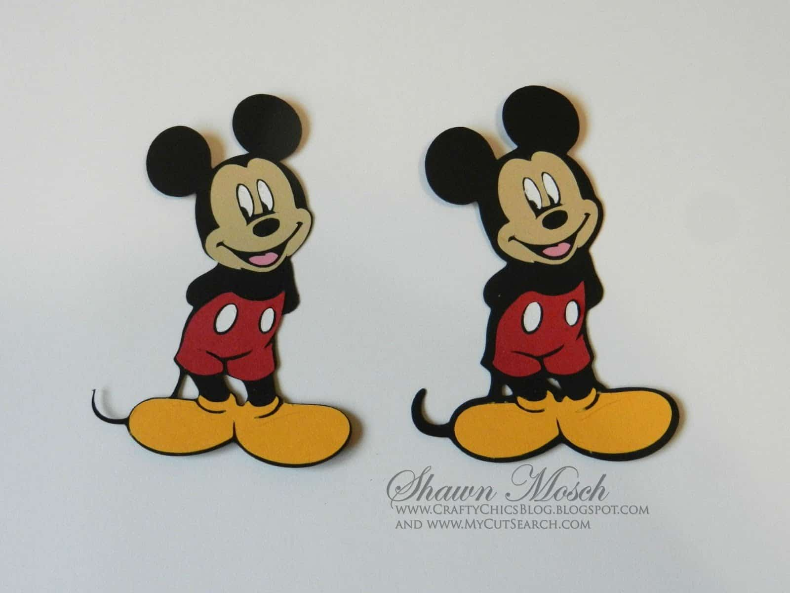 layering Disney images