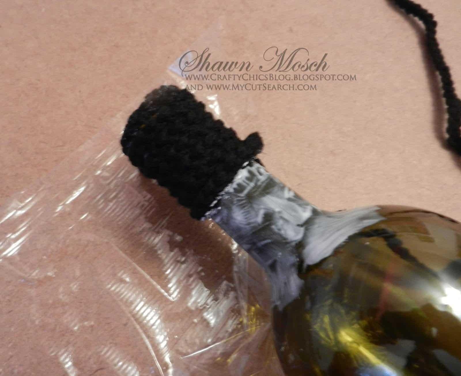 Mickey Mouse wine bottle
