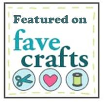 featured on FaveCrafts button