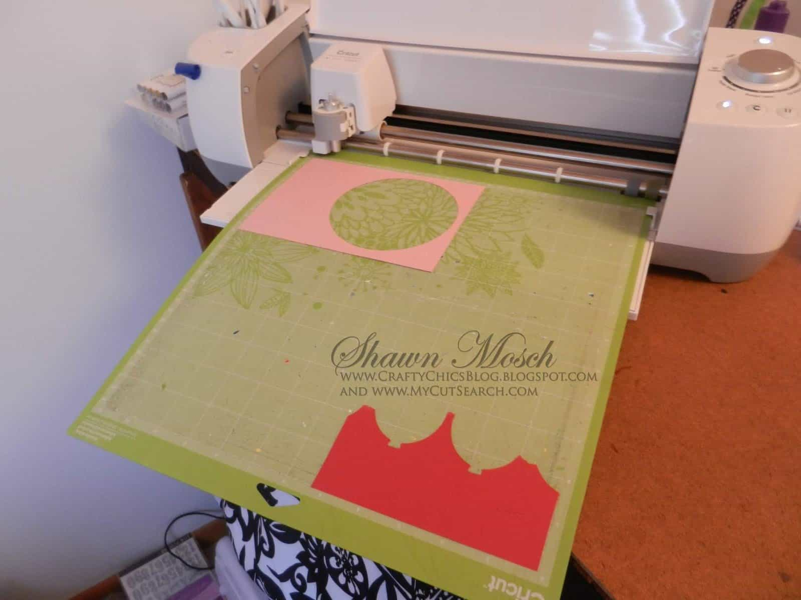 cutting scraps with your Cricut