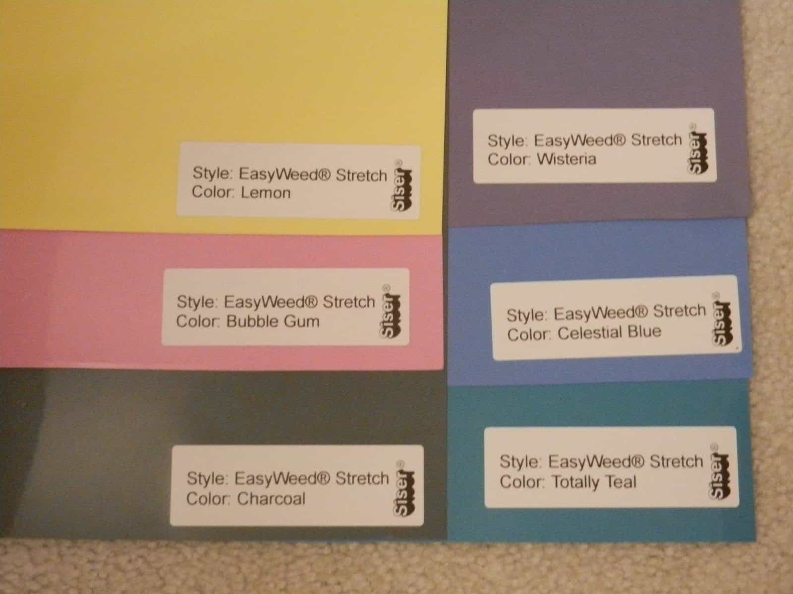 Siser EasyWeed Vinyl