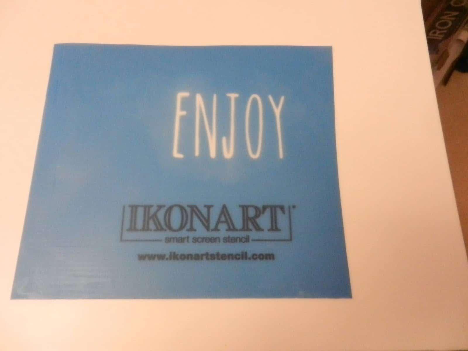 make a stencil with Ikonart