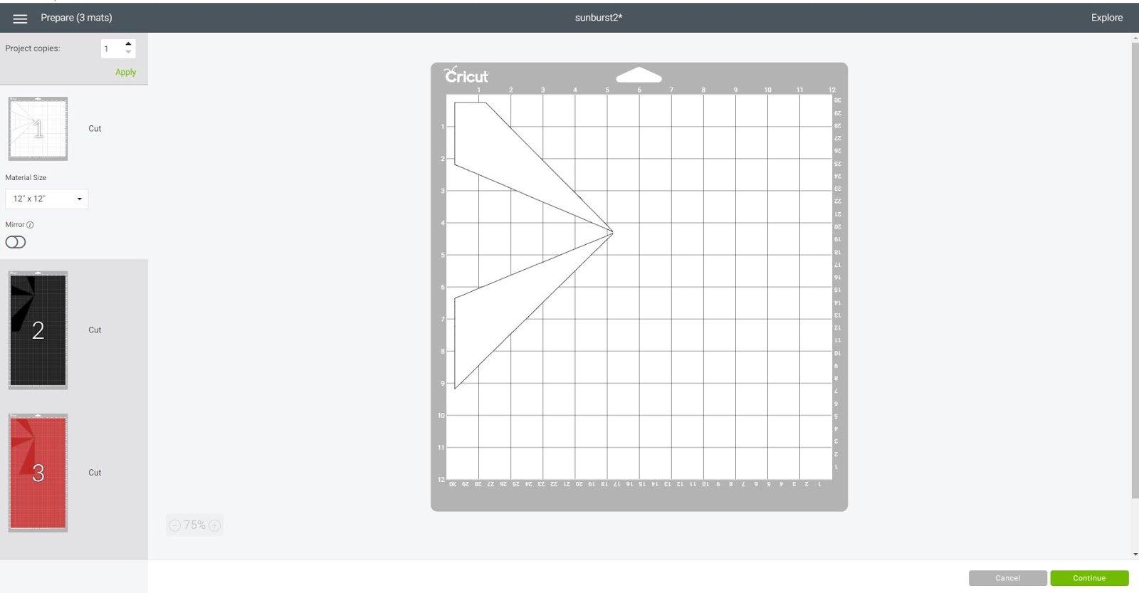 Cutting layers in Cricut Design Space