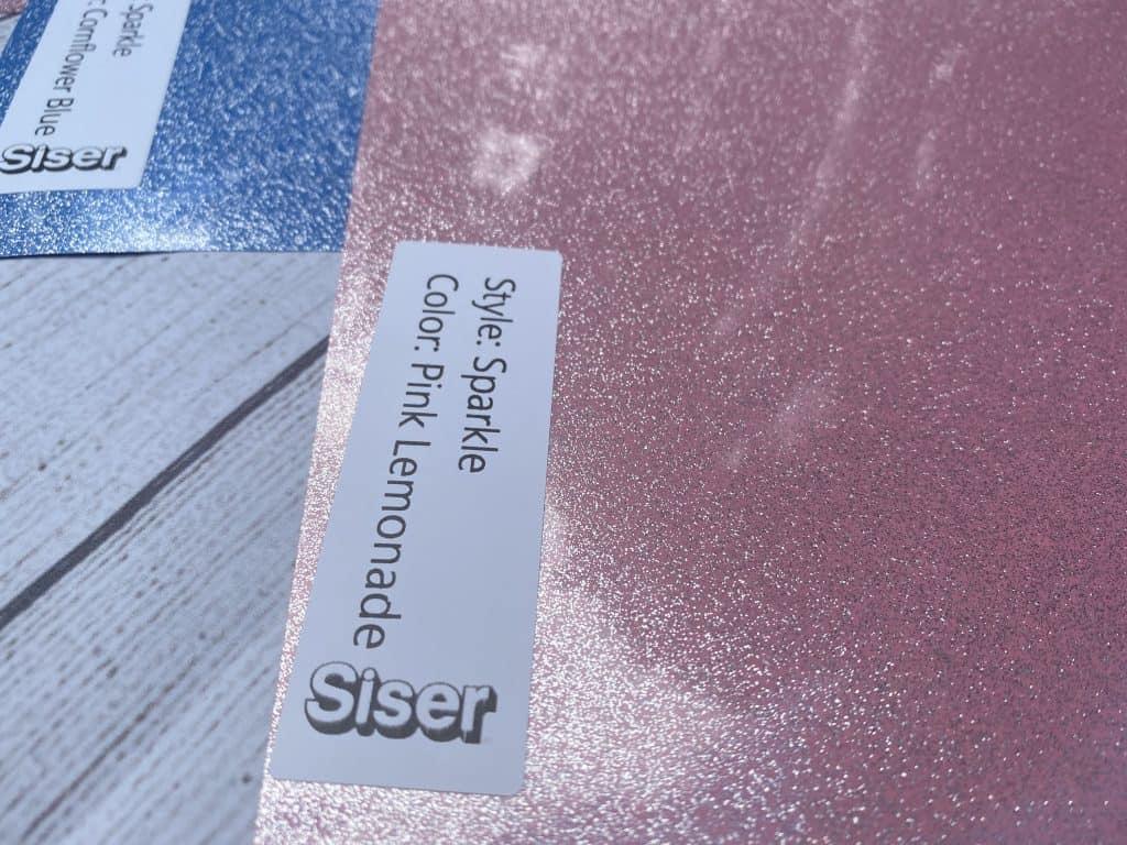 Siser Sparkle glitter vinyl